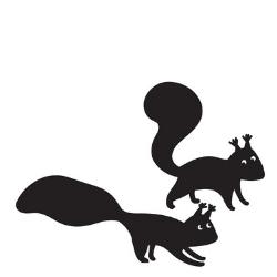 Dve veverky